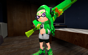 Splat Crew Enhanced Profile: Green by DarkMario2