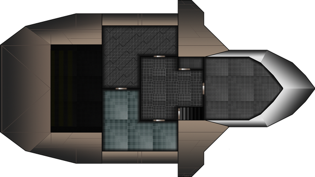 Ship Layout 3rd Floor by Mysticara