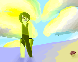 Chrysoberyl at the beach! by girluver90