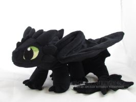 Toothless again by MagnaStorm