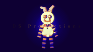 Paper Plate Bonnie | FNaF (Remodeled) by DS-Productions2