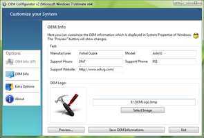 OEM Configurator 2.0 for Windows by Vishal-Gupta