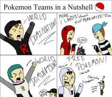 Pokemon Teams in a Nutshell by Housho