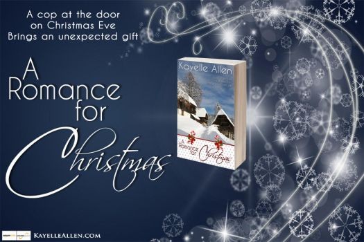 Banner:  A Romance for Christmas (blue) by kayelleallen