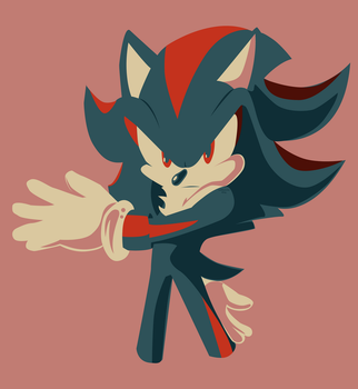 Shadow - Minimalist by JustASonicFan