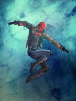 Red Hood Sketch by StereoiD