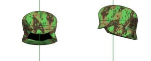 MMD- Army Cap-DOWNLOAD by MMDFakewings18