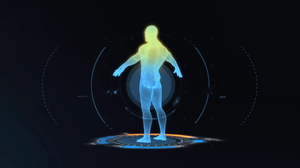 Man Scan Rainmeter Animation by eApathy