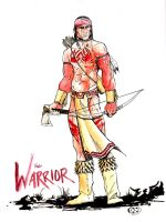 The Warrior by acarabet