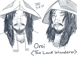 Old Sketches -- Oroi by Iivari-Matias