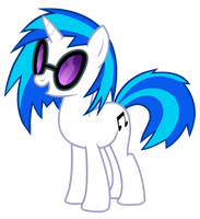 Vinyl Scratch by Jaelachan