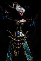 Enira Banshee Queen Cosplay (Lineage) by morgoth87