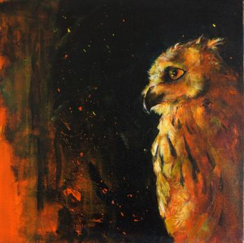 Eagle Owl by 8025glome