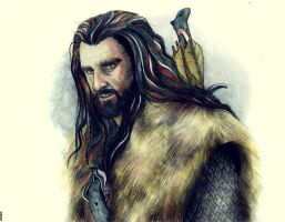 Thorin Oakenshield by Marinio