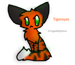 Tigereyes For MarioLover64 by frogsdolphins