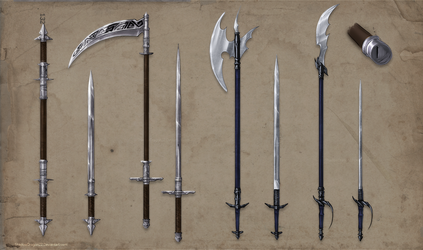 Alchemist Weapons Set Commission part 1 by ShadowDragon22