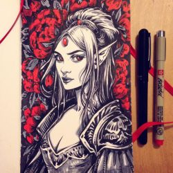 Red Queen by dimary