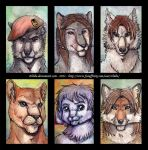 badges Batch 002 by Zhiibe