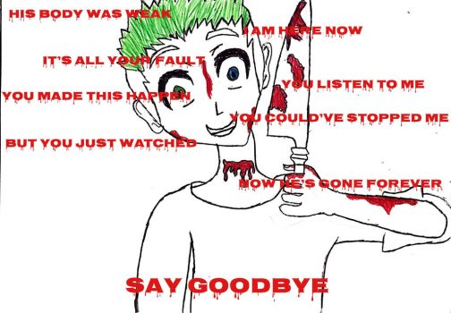 Antisepticeye | SAY GOODBYE [With Quotes] by Anjalea