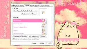 Cursor Pusheen Cat by SriitaDeWatt