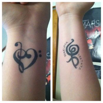 My Tattoos by earthtocarly