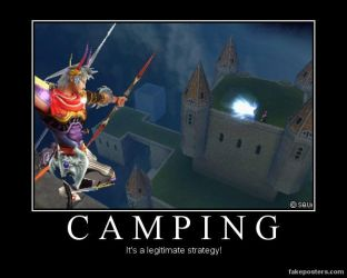 Demotivational: Camping by Mrfipp