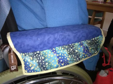 Another Wheelchair Bag by MrsQuilty