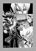 +Yugioh 5ds manga style+ by slifertheskydragon