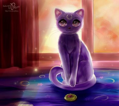 Cat Luna by Pillara