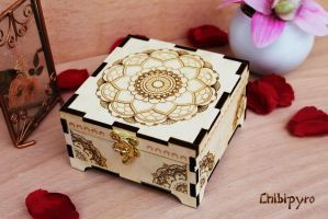 Wooden Box Mandala by ChibiPyro
