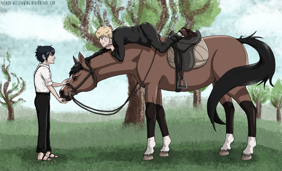 That's Not How You Ride A Horse by Silver-WillowWing