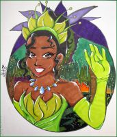 Princess and the Frog - Tiana by sophia-annalisia