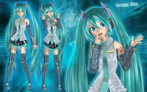 Hatsune Miku the Virtual Diva by Primantis
