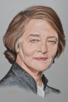 Charlotte Rampling by Andromaque78