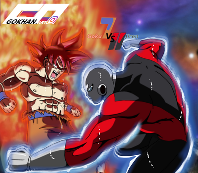 Goku Absolute Strength vs Jiren Ultra Instinct by Gokhan-Art