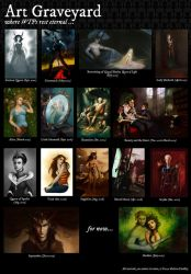 My Art Graveyard by MelissaFindley