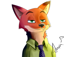 Nick Wilde by PinkSeeds
