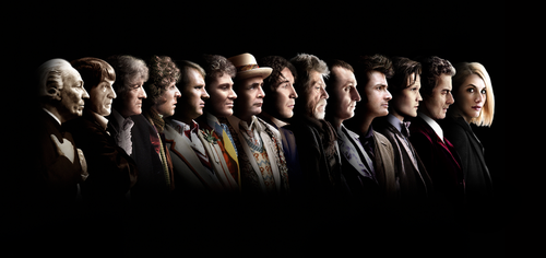 The Doctors' Lineup (with Jodie Whittaker) by inbirdculture