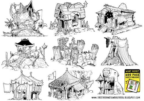 9 Environment Concepts by STUDIOBLINKTWICE