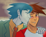 Dude, That's My Ghost!: Billy and Spencer by witch-girl-pilar