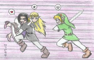 ...Just Another Day in Hyrule by LycanthropeHeart