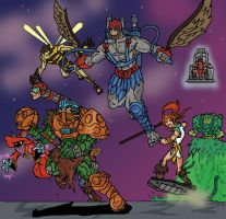 Masters of the Universe by JazylH
