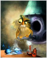 Anacleto. The sword in the stone. by Niniel-Illustrator