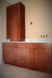 Jacomo Bathroom Vanity and Linen Cabinet by belakwood