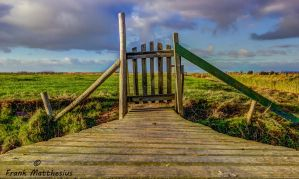 Gate to nowhere? (color version) by framafoto