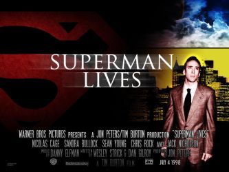 SUPERMAN LIVES-POSTER by childlogiclabs