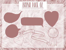 Brush Pack 02 by kyeoptata by kyeoptata