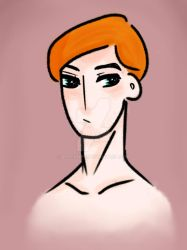 Hux (young) - test by Im-a-knife