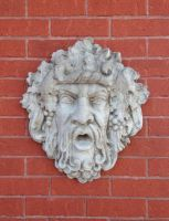 Just another face on the wall by Ripplin