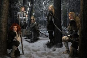 The Winter Campaign by Bad-Dragon
